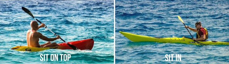 touring kayak vs sea kayak